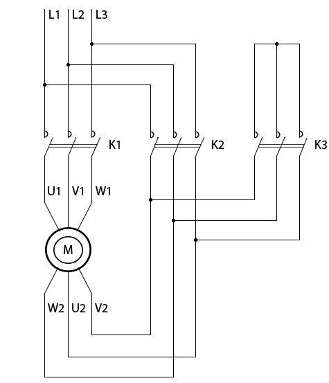 магнитного пускателя К1